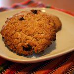 La merenda per la scuola: biscotti all'avena e uvetta