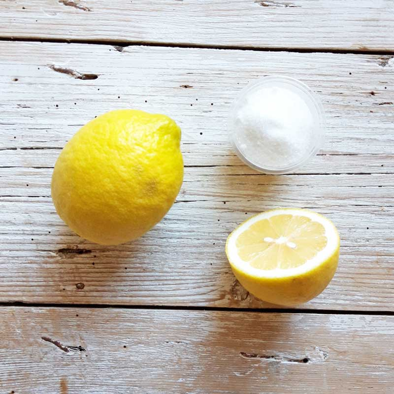acido citrico e limone