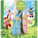Novità dal mondo Keptin-Jr: le bambole di pezza e i nuovi guantini da bagno!