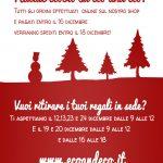Natale ecobio: spedizioni e ritiri in sede!