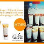 Novità da Officina Naturae: i solari di Rimini!