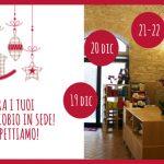 Ritira in sede i tuoi regali ecobio fino al 24 dicembre!