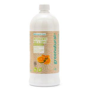 Detergente mani e corpo Menta & Arancio