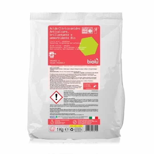 acido citrico sacchetto