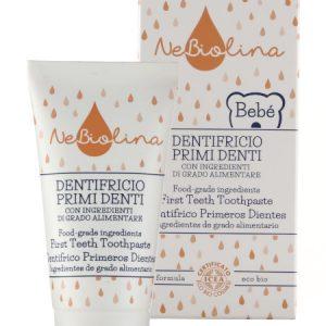 Baby Dentifricio primi denti