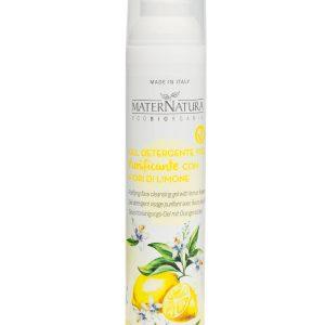 Gel Detergente Viso Purificante con Fiori di Limone