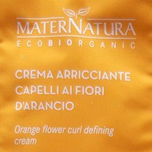 maternatura crema arancio