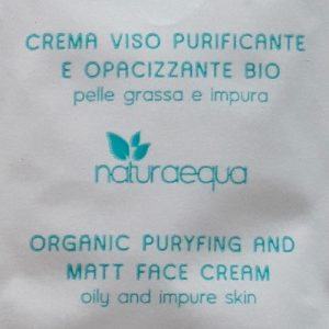 naturaequa crema viso purificante