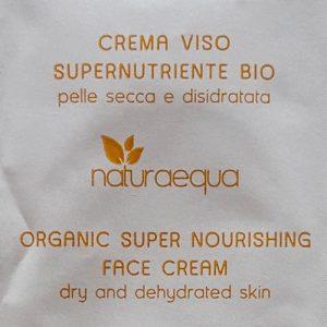 naturaequa crema viso supernutriente