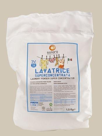 Detersivo superconcentrato in polvere per lavatrice (1,5kg)