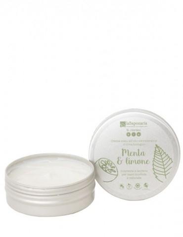 Crema mani menta e limone (60ml)
