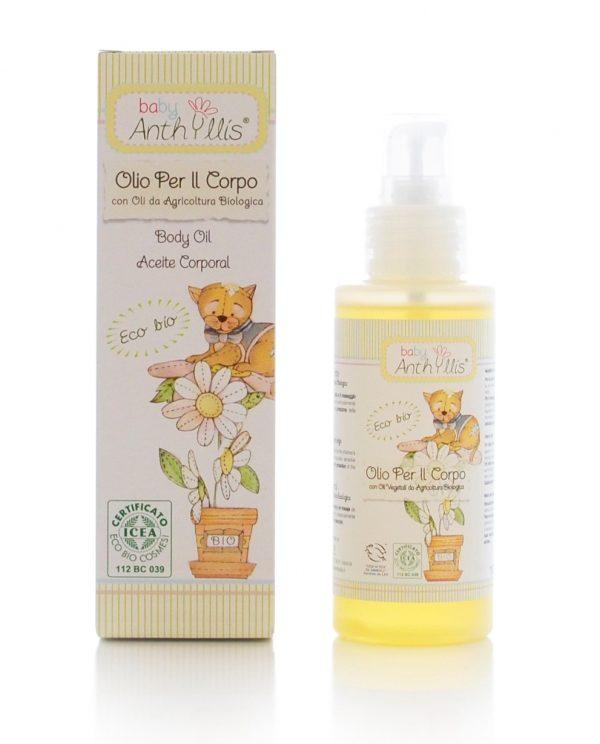 Olio per il corpo BIO Baby Anthyllis (125ml)