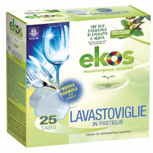 Pastiglie per lavastoviglie 25 tabs (500gr)