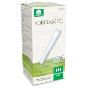 Organyc Assorbenti Interni con Applicatore Super (14 PZ)