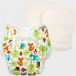 Pannolino Lavabile One Size Diaper Woodland