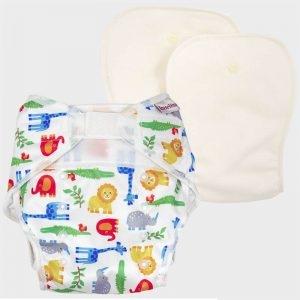 Pannolino Lavabile One Size Diaper Zoo