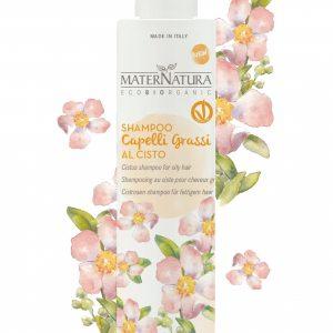 Shampoo al cisto per capelli grassi (250ml)