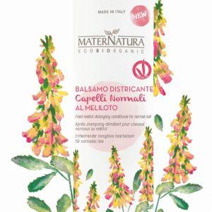 Balsamo Capelli Districante Capelli Normali al Meliloto (250ml)