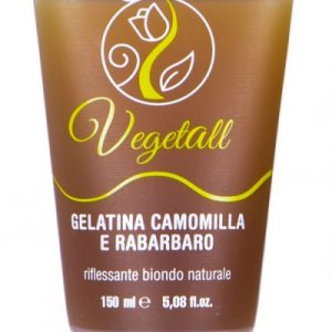 VegetAll Gelatina camomilla e rabarbaro riflesso biondo (150ml)