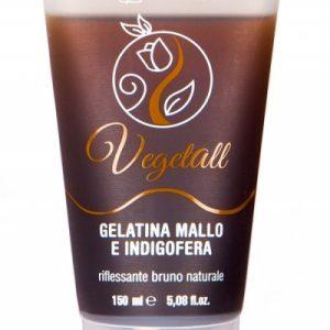 VegetAll Gelatina mallo e indigofera riflesso castano (150ml)