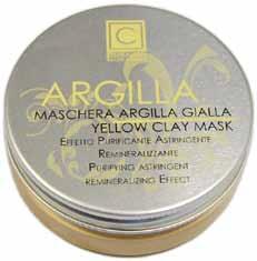 Maschera argilla gialla (50ml)