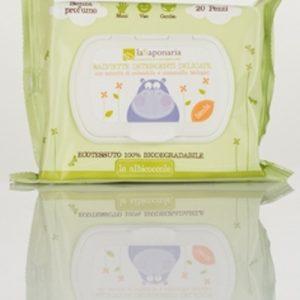 Baby Salviette detergenti delicate (20pz)