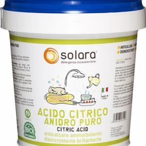 Acido citrico anidro puro (750g)