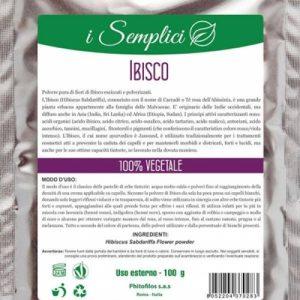 I semplici Ibisco riflesso viola (100gr)