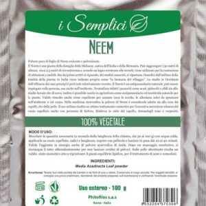 I semplici Neem purificante (100g)