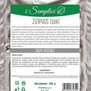 I semplici Ziziphus tonico lucidante (100gr)