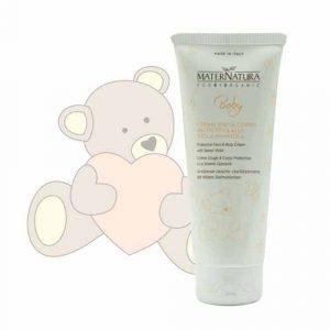 Baby Crema viso e corpo protettiva alla viola mammola (100ml)