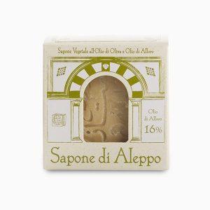 Sapone di Aleppo 16% (200gr)