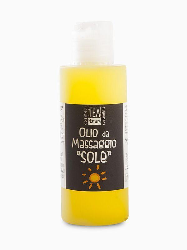 Olio da massaggio Sole - tonificante e rivitalizzante (125ml)