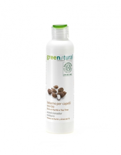 Balsamo per capelli burro di karite e tea tree (250ml)