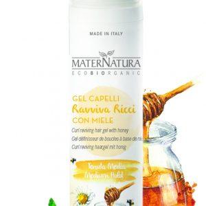 Gel ravviva ricci capelli con miele (100ml)