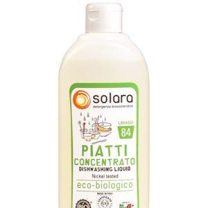 Solara Detersivo Piatti Liquido a mano km0 (500ml)