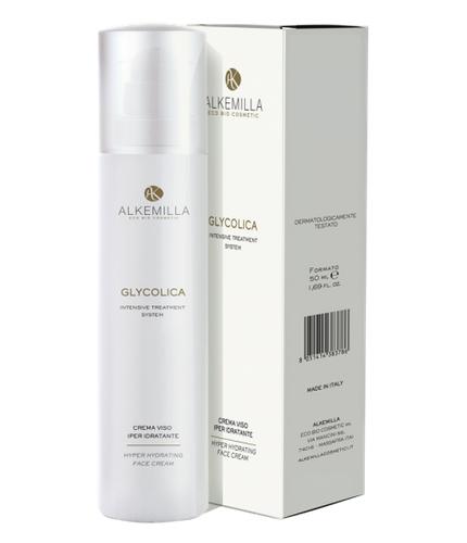Glycolica crema viso iperidratante (50ml)