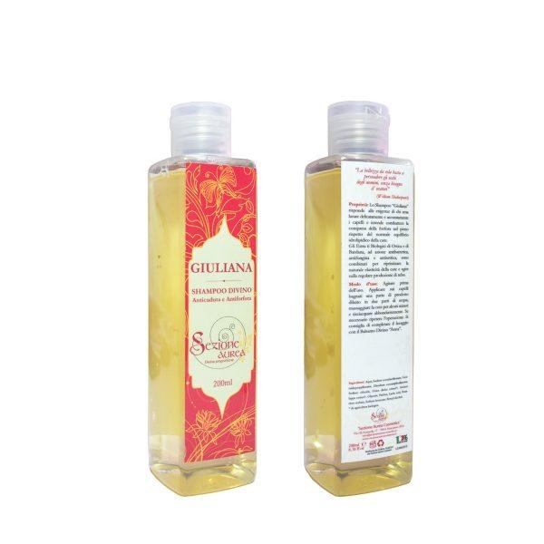 Shampoo antiforfora e anticaduta GIULIANA (200ml)