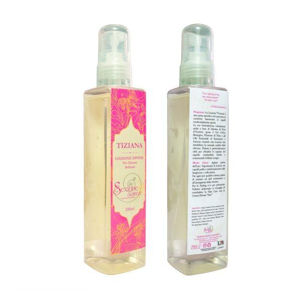 Spray illuminante per capelli spenti o crespi TIZIANA (200ml)