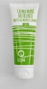 Crema mani nutriente frutti di bosco e limone (75ml)
