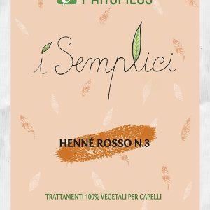 Henné rosso N.3 riflesso rame intenso (100gr)