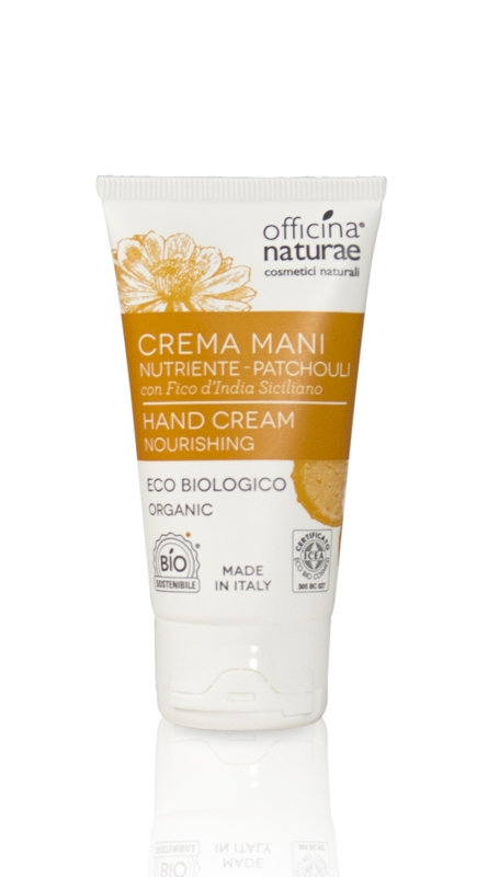 Crema mani nutriente Patchouli (50ml)
