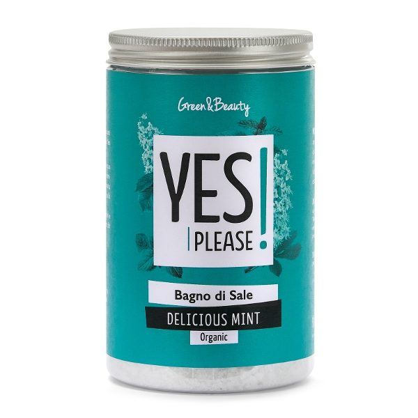 Bagno di sale Delicious Mint rinfrescante (440gr)