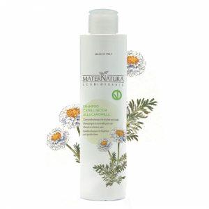 Shampoo cute e capelli secchi alla camomilla (250ml)
