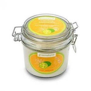 Candela in cera di soia Limone Verde e Citronella - STOP ZANZARE (200gr)
