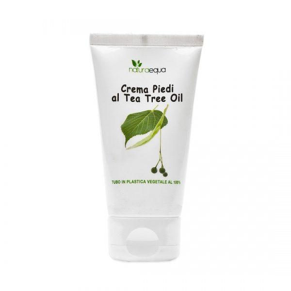 Crema piedi al tea tree oil (50ml)