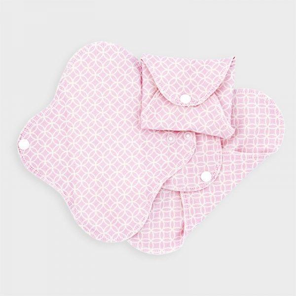 Salvaslip lavabili SLIM Pink Halo (3 pz)