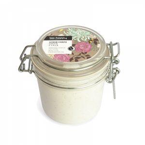 Scrub corpo cocco e lillà (200ml)