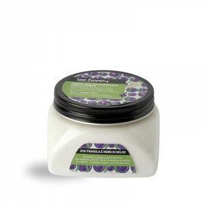 Crema multifunzionale viso e corpo Uva fragola e more di gelso (200ml)