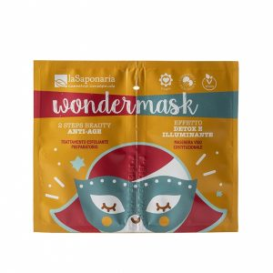 Wondermask maschera viso 2 step beauty anti age